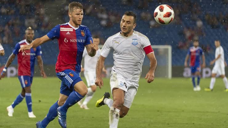 Silvan Widmer erinnert sich an das Spiel gegen Apollon Limassol: «Das Europa-Aus war ein Schock für alle beim FCB. Aber ich denke nicht, dass er nachhallt.»