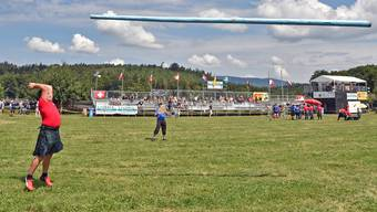Highland-Games Wolfwil 2018.