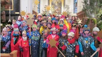 48 Kinder waren als Sternsinger in Deitingen unterwegs.