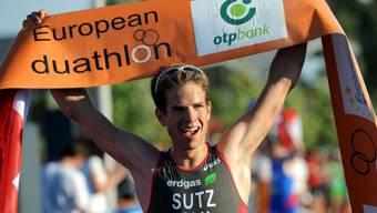 Andy Sutz holte sich in Budapest die EM-Krone