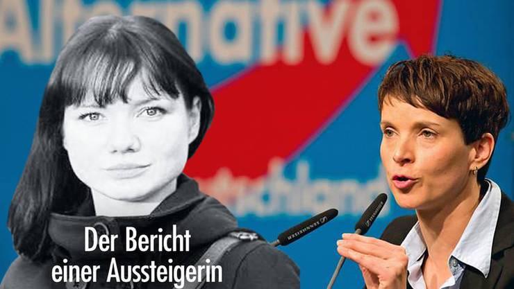 Franziska Schreiber hat ihre Erfahrungen, die sie in der AfD von Ex-Chefin Frauke Petry (rechts) gemacht hat, in einem Buch festgehalten.