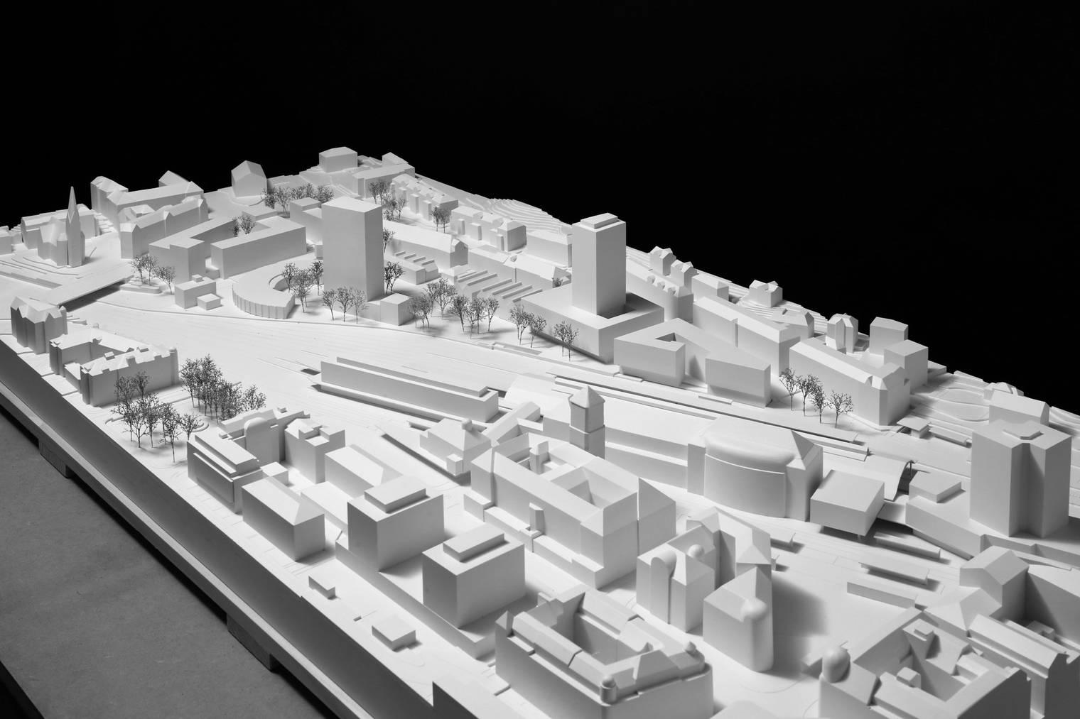 Das Konzept der Boltshauser Architekten AG