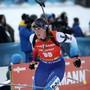 Lena Häcki war beim 5. Platz der Schweizerinnen im kanadischen Canmore die Schlussläuferin