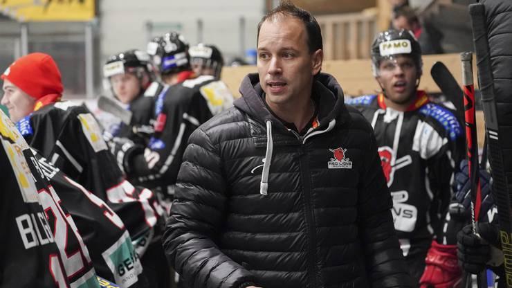 Reinach-Trainer Raphael Zahner befand sich zuletzt mit seiner Mannschaft in der Quarantäne.