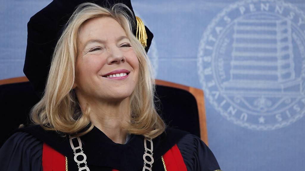 ARCHIV - Amy Gutmann, die Präsidentin der University of Pennsylvania, in Philadelphia. Foto: Matt Rourke/AP/dpa