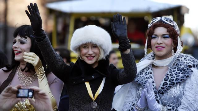 Frau des Jahres: Helen Mirren in männlicher Begleitung