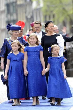 Hollands Prinzessinnen-Trio: Alexia, Amalia, Ariane
