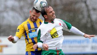 Der FC Langenthal gegen die Red Star Zuerich
