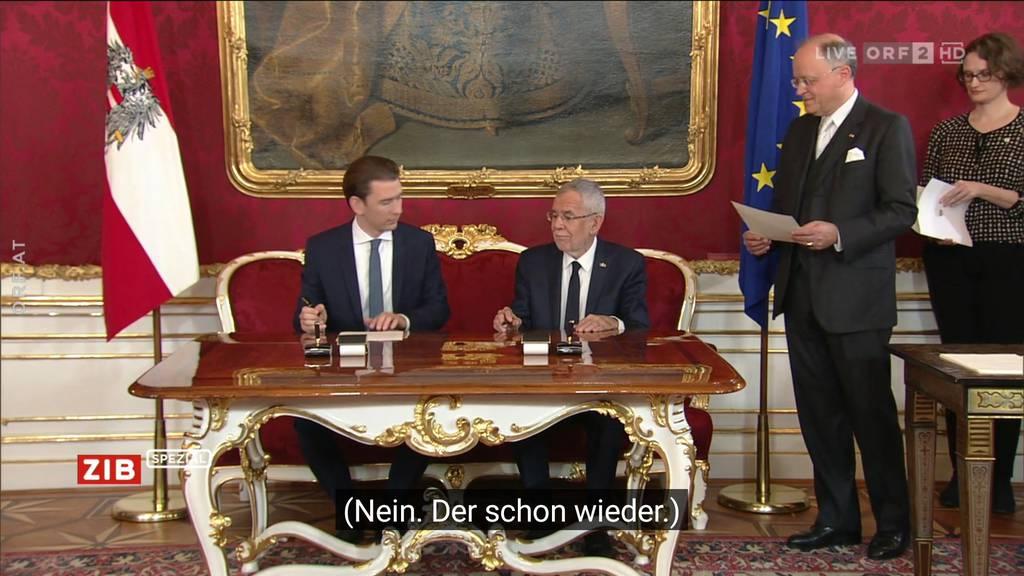 Will der österreichische Kanzler Putzfrau werden?