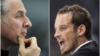 Das Duo Hollenstein/Fischer (r.) könnte an der nächsten Hockey-WM die Fäden ziehen.