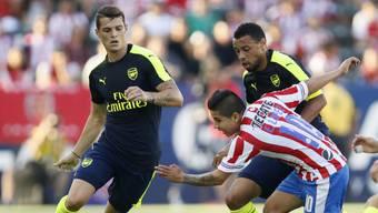 Neuer Hoffnungsträger: Granit Xhaka wird bei Arsenal eine grosse Zukunft vorausgesagt.