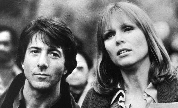 Marthe Keller und Dustin Hoffmann in «Marathon Man» (1976)