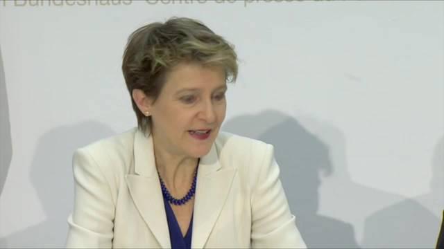 Masseneinwanderungsinitiative: Bundesrat will einvernehmliche Lösung mit EU