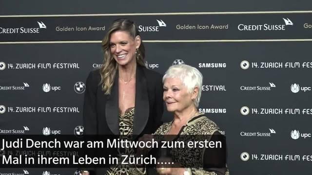 ZFF: Judi Dench mit Golden Icon geehrt