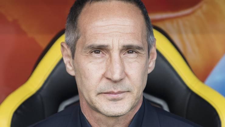 Trainer Adi Hütter war weniger angetan als auch schon