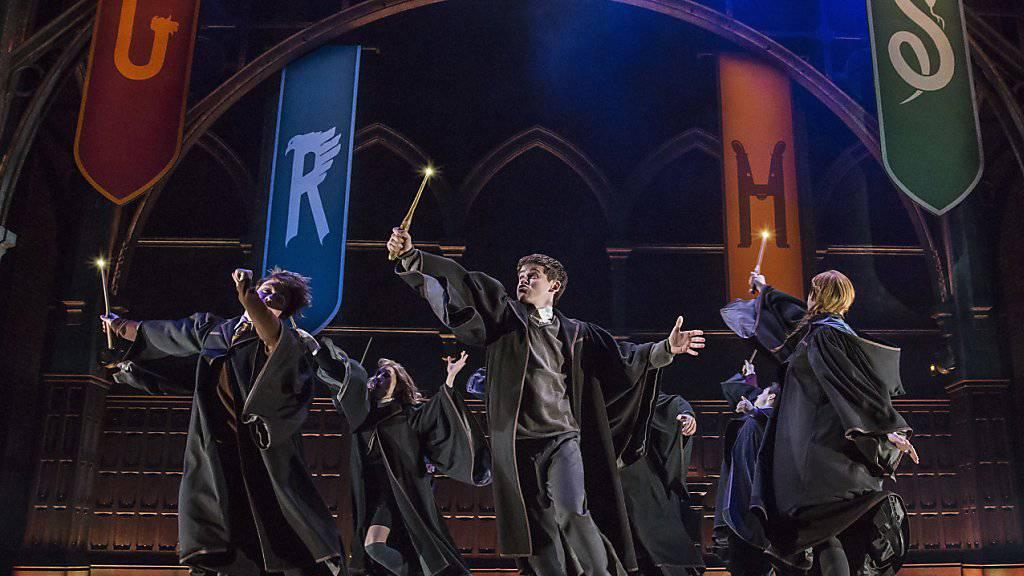 Szene aus der Broadway-Show «Harry Potter and the Cursed Child» in New York. (Archivbild)