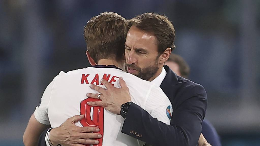 England mit Trainer Gareth Southgate und Captain Harry Kane legte bislang kaum Flugmeilen zurück
