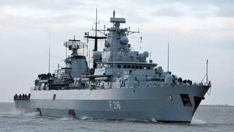 """Piratenjäger: Die deutsche Fregatte """"Schleswig-Holstein"""" (Archiv)"""