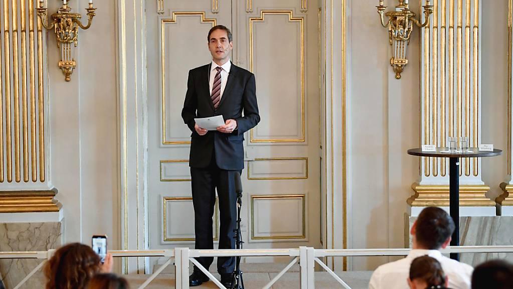 ARCHIV - Der Staatssekretär der Schwedischen Akademie, Mats Malm. Die Schwedische Akademie verkündet am 7. Oktober, wer in diesem Jahr mit dem Literaturnobelpreis ausgezeichnet wird. Foto: Anders Wiklund/TT News Agency/AP/dpa