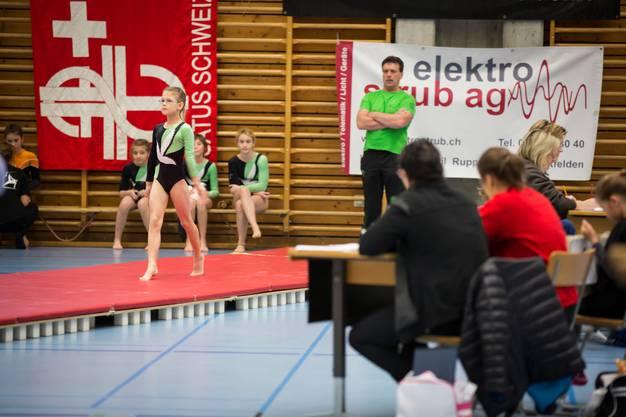 6. Verbandsmeisterschaft im Einzelgeräteturnen Oberentfelden