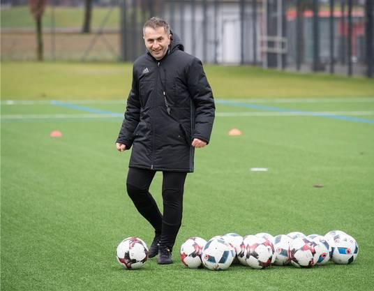 Ab Sommer Trainer in Baden: Ranko Jakovljevic.