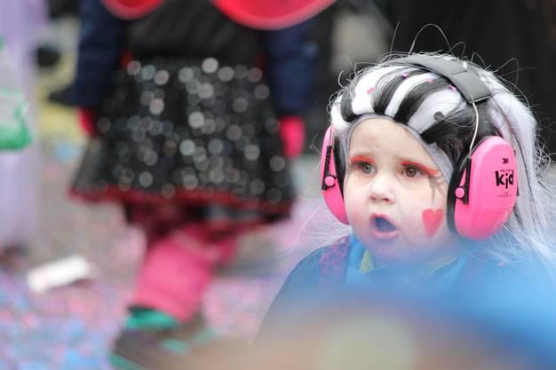 Sicher ist sicher: Diese Ohren sind geschützt.
