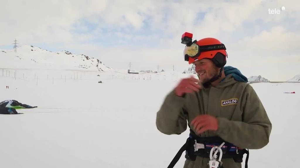 Winter extrem: Mit Bickel und Seil im Eisfall