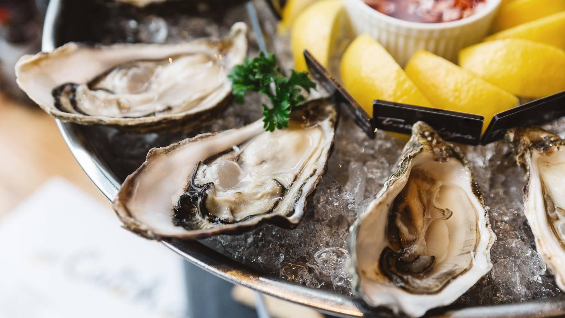 Austern, ein Genuss aus dem Meer.