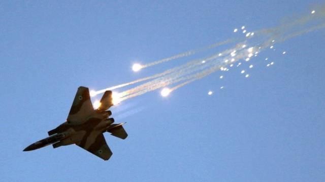 Israels Luftwaffe reagiert auf den Raketenbeschuss aus dem Gazastreifen (Archiv)