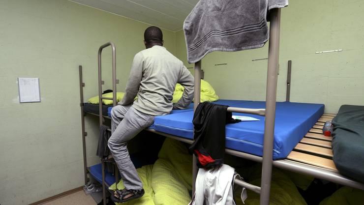 Eingebunkert: Asylunterkunft auf dem Lukmanierpass