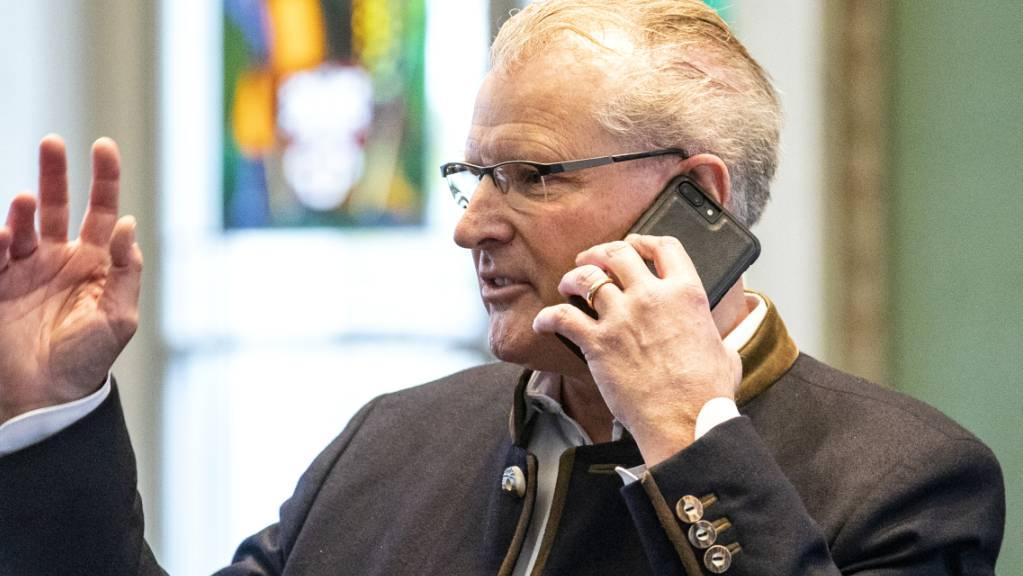 Heinz Tännler, Zuger Finanzdirektor