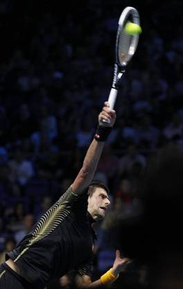 Mit viel Energe: Djokovic