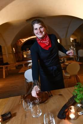 Hat in der Gastronomie ihre Leidenschaft gefunden: Nora Garberson.