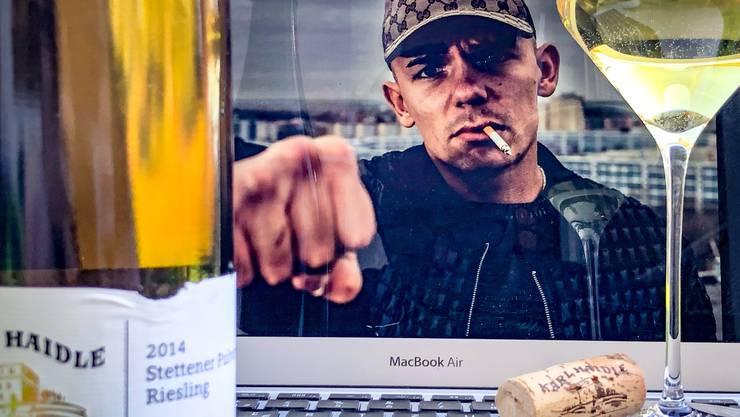 Ein Wein für Capital Bra Wie wärs mit einem vom rappenden Winzer aus Stuttgart