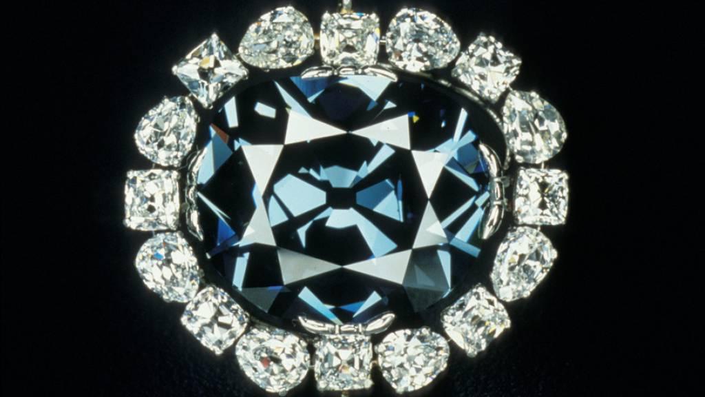 «Hope»-Diamant könnte aus innerem Erdmantel stammen