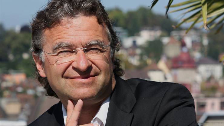 """Der Schweizer Hotelier Ernst """"Aschi"""" Wyrsch war zu Gast am Wirtschaftsforum."""