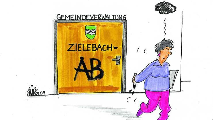 Zielebach: Die Stimmbürger diskutieren wieder über die Auslagerung ihrer Verwaltung.