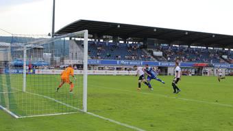 Trotz frühem Rückstand kann der FC Wohlen die Partie gegen Buochs letztendlich für sich entscheiden.