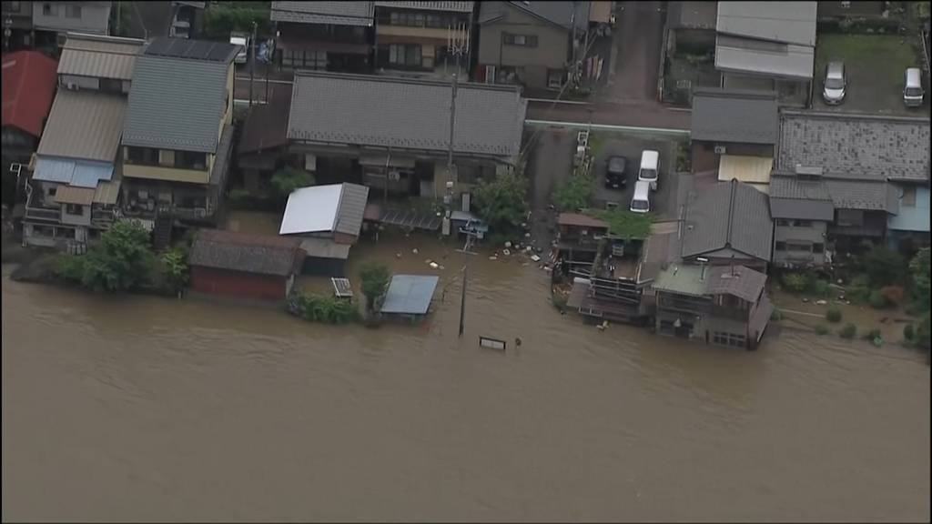 Japan: Andauernde Unwetter fordern mindestens 62 Todesopfer