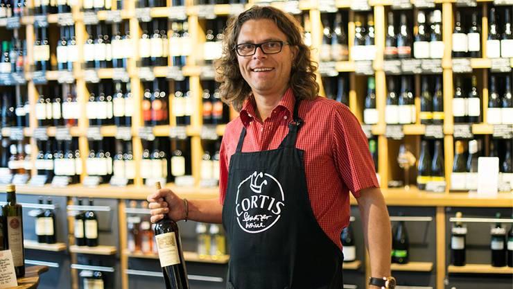 """""""Das ist einfach himmeltraurig"""", sagt der Badener Weinhändler und BT-Kolumnist Daniel Cortellini."""
