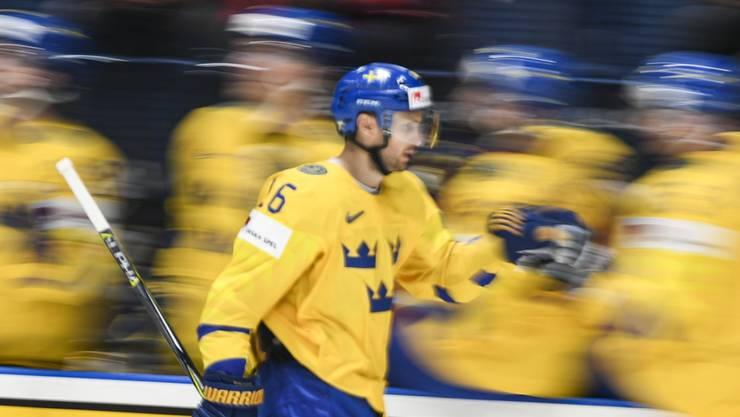 In der schwedischen Nationalmannschaft seit vielen Jahren eine feste Grösse: der neue Lions-Center Marcus Krüger