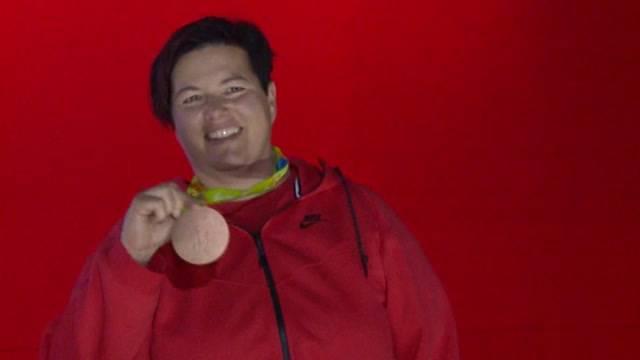 Erste Schweizer Olympia-Medaille