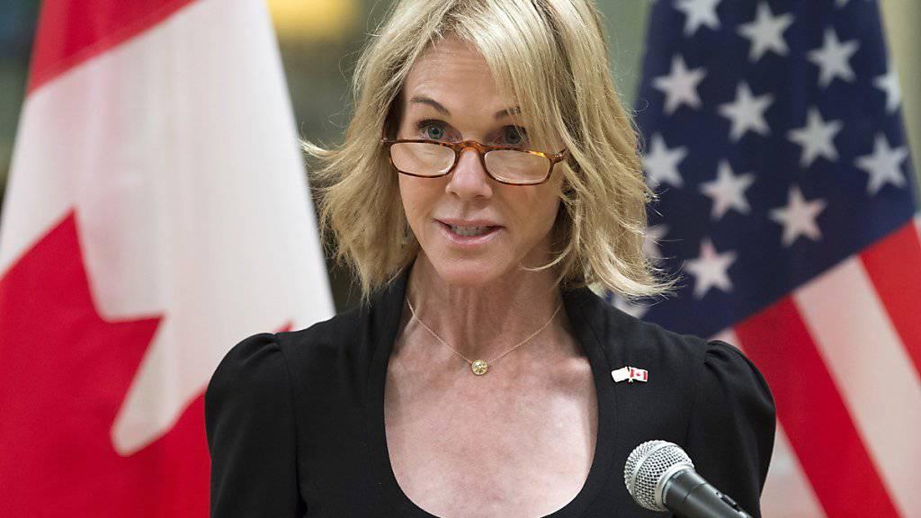 Die US-Botschafterin in Kanada, Kelly Knight Craft, soll laut US-Präsident Donald Trump die Vereinigten Staaten bei der Uno vertreten. (Archivbild)