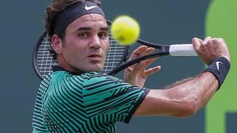 Roger Federer ist im 2017 bisher eine Klasse für sich