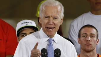 Joe Biden: Der ehemalige US-Vize geht mit Trump nicht gerade zimperlich um. (Archivbild)