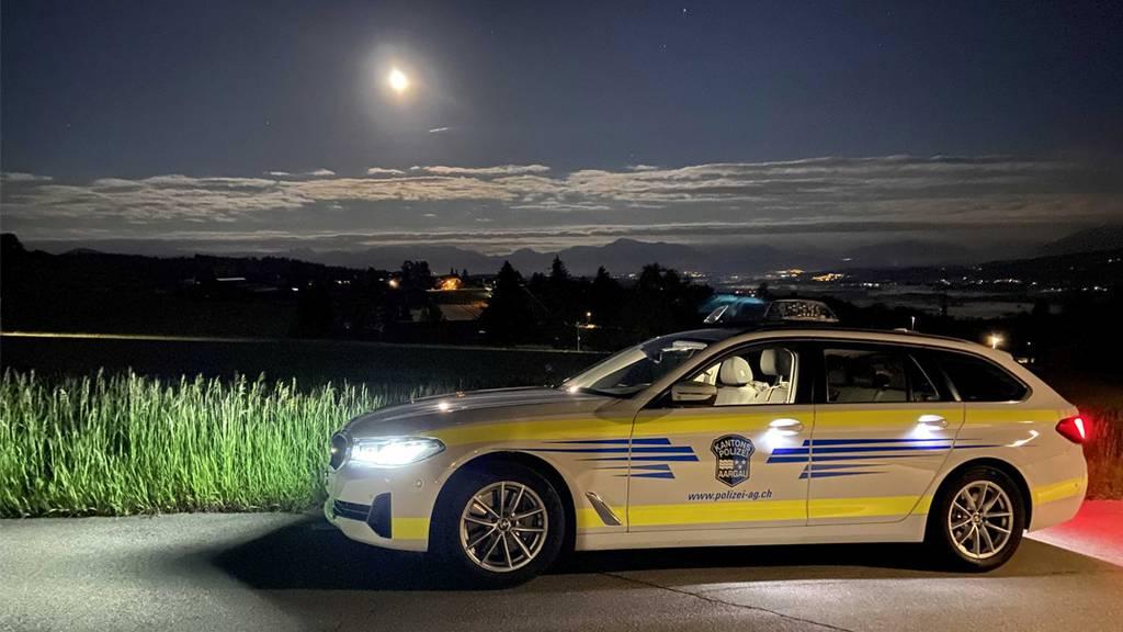 Kapo Aargau Polizeifahrzeug