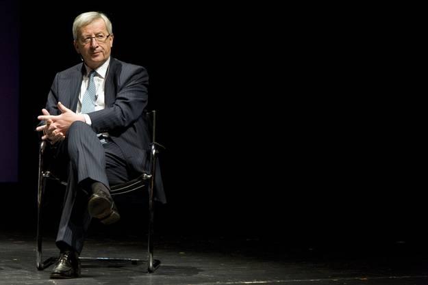 Bewahrt Haltung: Jean-Claude Juncker.