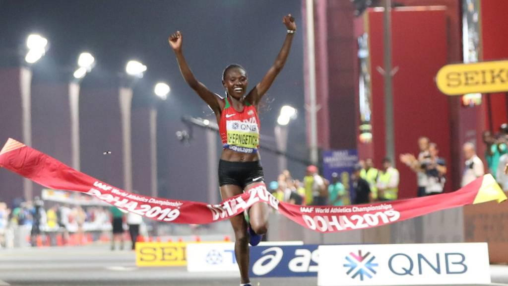 Ruth Chepngetich pulverisiert den Weltrekord