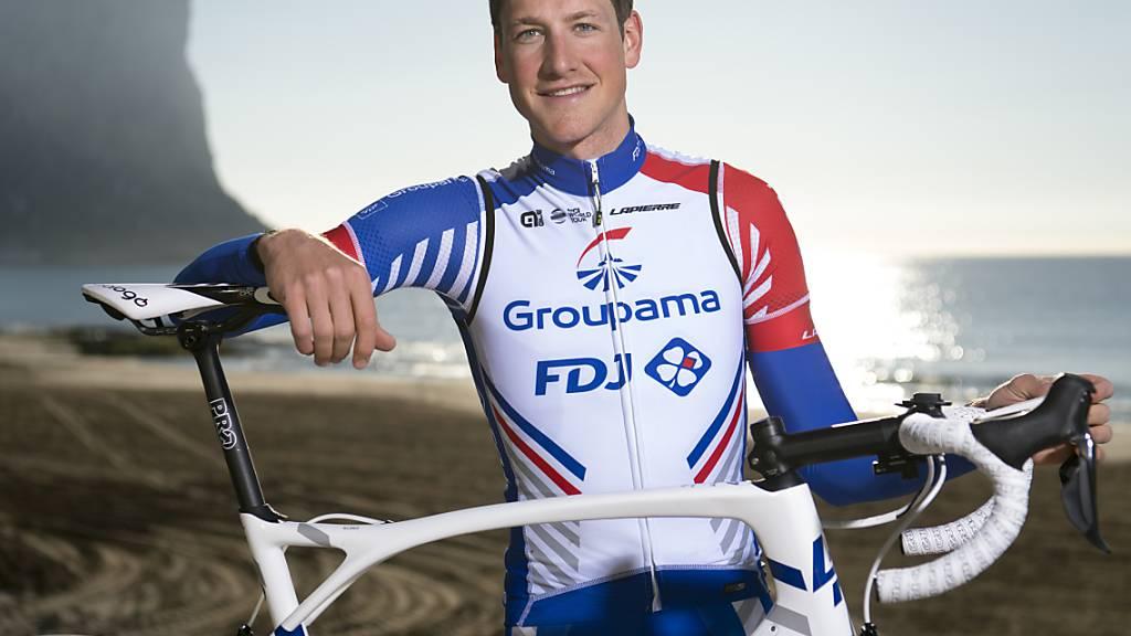 Stefan Küng feierte im französischen Jura seinen vierten Saisonsieg