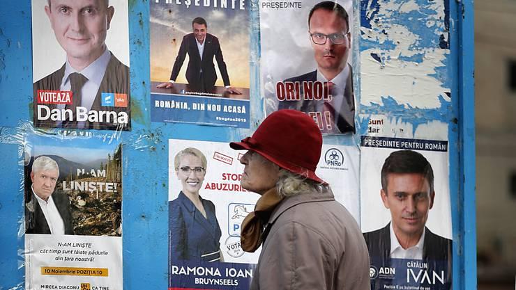 Präsidentschaftswahl in Rumänien: Iohannis geht als Favorit in Stichwahl